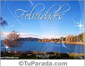 Tarjetas, postales: Felicidades