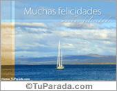 Cumpleaños para hombres - Tarjetas postales: Muchas felicidades