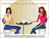 Tarjetas postales: Feliz Día Internacional de la Mujer