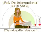Tarjetas postales: Feliz Día de la Mujer