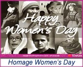 Women's Day - Greeting ecards: Homage Womens Day
