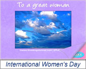 Women's Day - Greeting ecards: International Womens Day