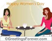 Women's Day - Greeting ecards: Happy Womens Day