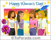 Happy Womens Day ecard