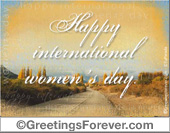 Women's Day - Greeting ecards: Have a nice day.