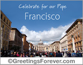 Celebrate for our Pope Francisco