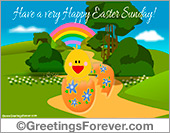Ecards: Easter Egg ecard