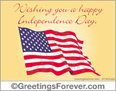 Ecards: Independence day