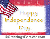 Ecards: Happy Independence day