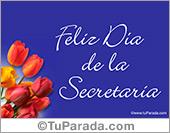 Tarjeta - Tarjeta día de la Secretaria
