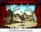 Tarjeta - Hay días en que me siento Don Quijote...