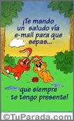 Amistad - Tarjetas postales: Siempre estás presente