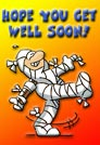 Get well ecards - Greeting ecards: Hope you get well soon ecard