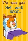 Get well ecards - Greeting ecards: Get well soon