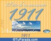 Tarjeta de 1911
