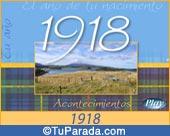Tarjeta de 1918