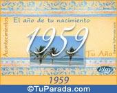 Tarjeta de 1959