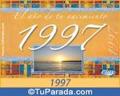 Tarjeta de 1997