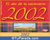 Tarjeta de 2002