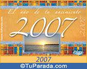 Tarjeta de 2007