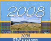 Tarjeta de 2008