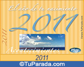 Tarjeta de 2011