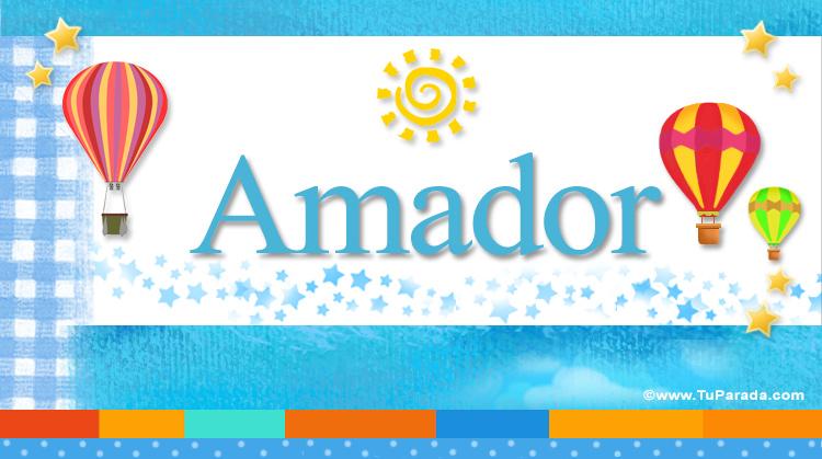Amador, imagen de Amador