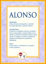 Nombre Alonso