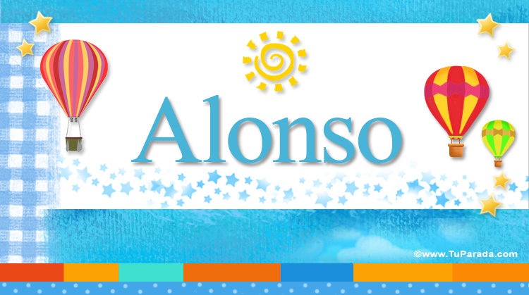 Alonso, imagen de Alonso