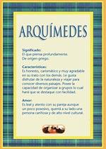 Nombre Arquímides