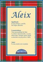 Nombre Aleix