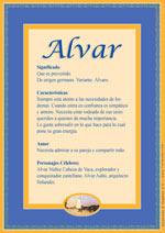Nombre Alvar