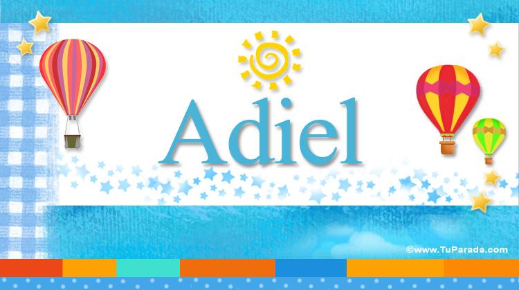 Adiel, imagen de Adiel