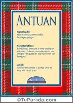 Nombre Antuan