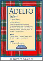 Nombre Adelfo