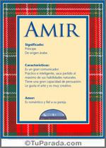 Nombre Amir