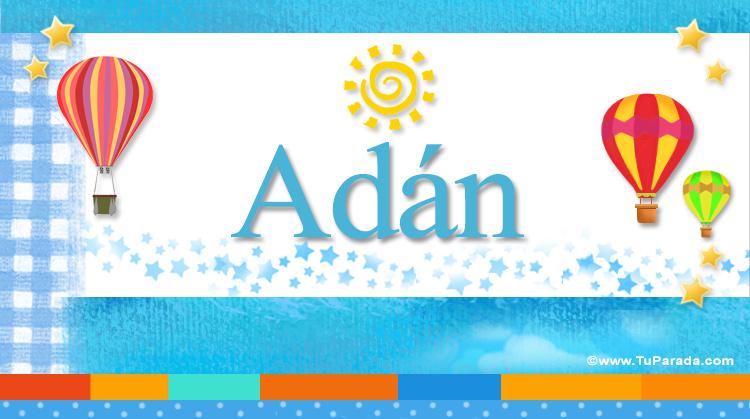 Adán, imagen de Adán