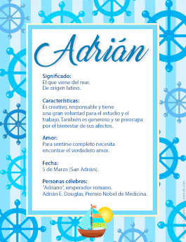 Origen y significado de Adrián
