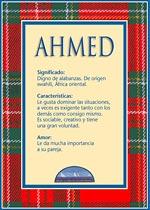 Nombre Ahmed