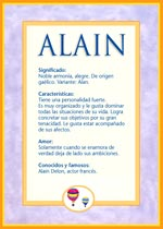 Origen y significado de Alain