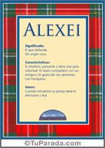 Nombre Alexei