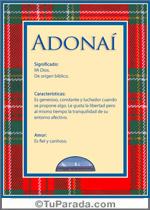 Nombre Adonaí