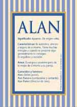 Nombre Alan