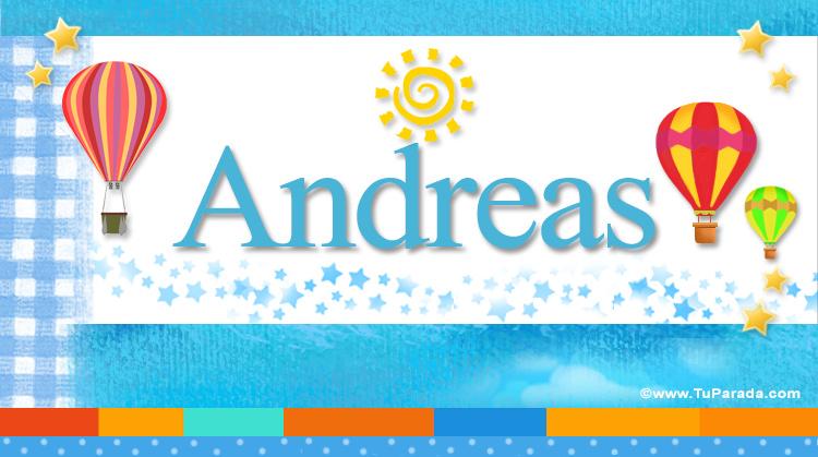 Andreas, imagen de Andreas