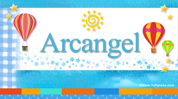 Arcangel, imagen de Arcangel