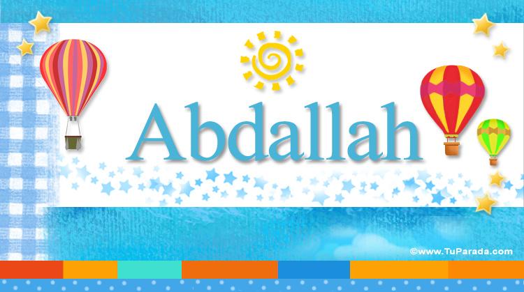 Abdallah, imagen de Abdallah