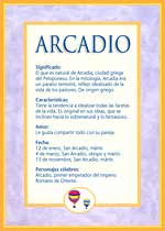 Nombre Arcadio