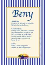 Nombre Beny