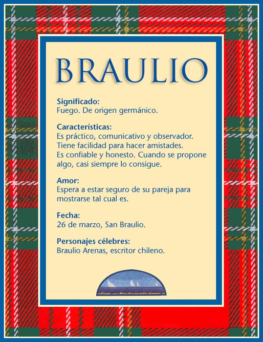 Braulio, imagen de Braulio