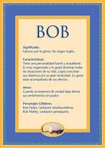 Nombre Bob